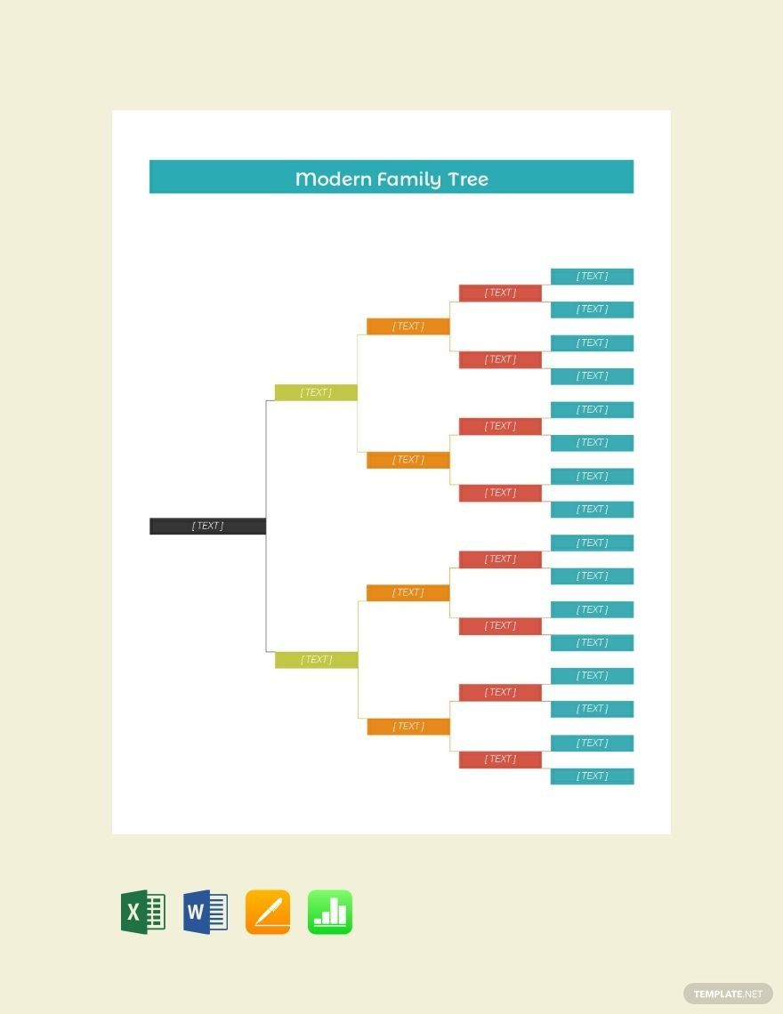 001 Fearsome Free Editable Family Tree Template For Mac Inspiration Full