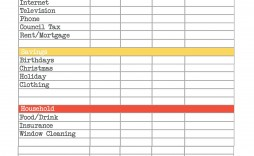 001 Fearsome Free Monthly Budget Template Printable Idea  Simple Worksheet Household Planner Uk