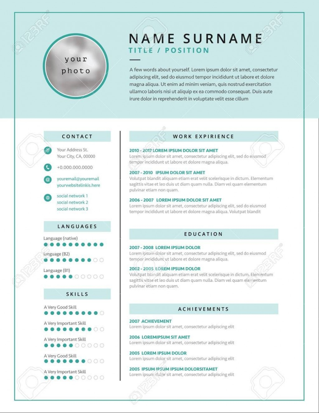 001 Fearsome Medical Curriculum Vitae Template Example  Templates Word Sample StudentLarge