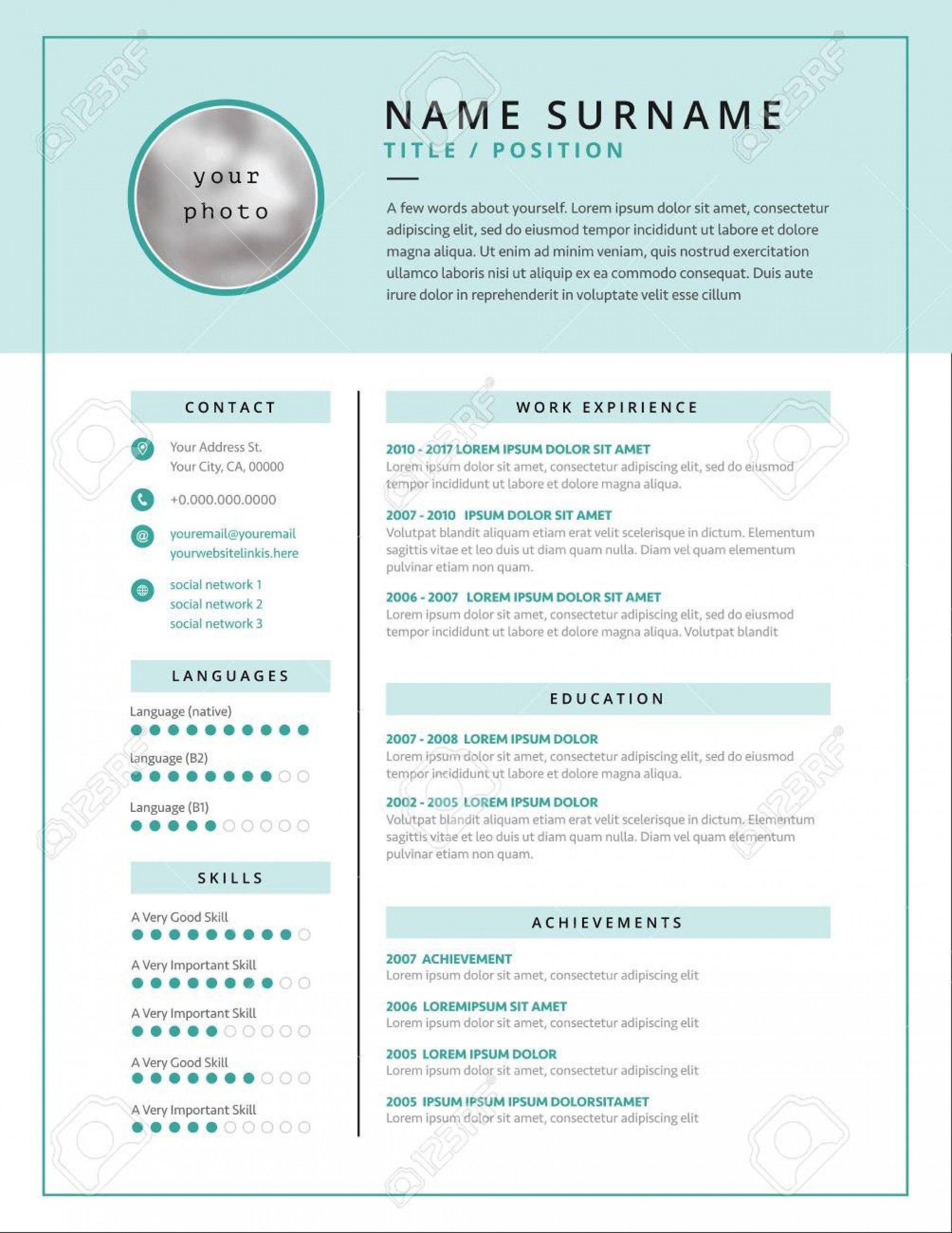 001 Fearsome Medical Curriculum Vitae Template Example  Templates Word Sample Student1920