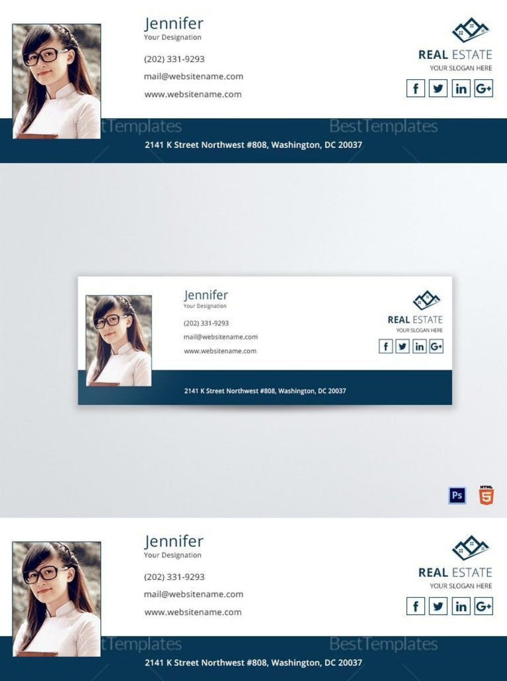 001 Fearsome Outlook Email Signature Template Highest Clarity  Example Free Download BestLarge
