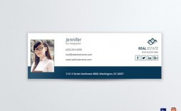 001 Fearsome Outlook Email Signature Template Highest Clarity  Example Free Download Best