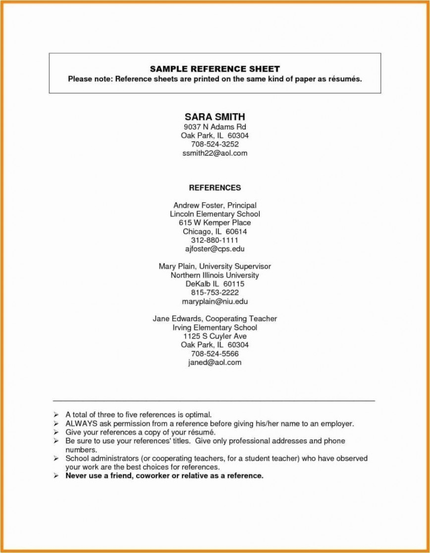 001 Fearsome Resume Reference List Template Microsoft Word High Resolution 868