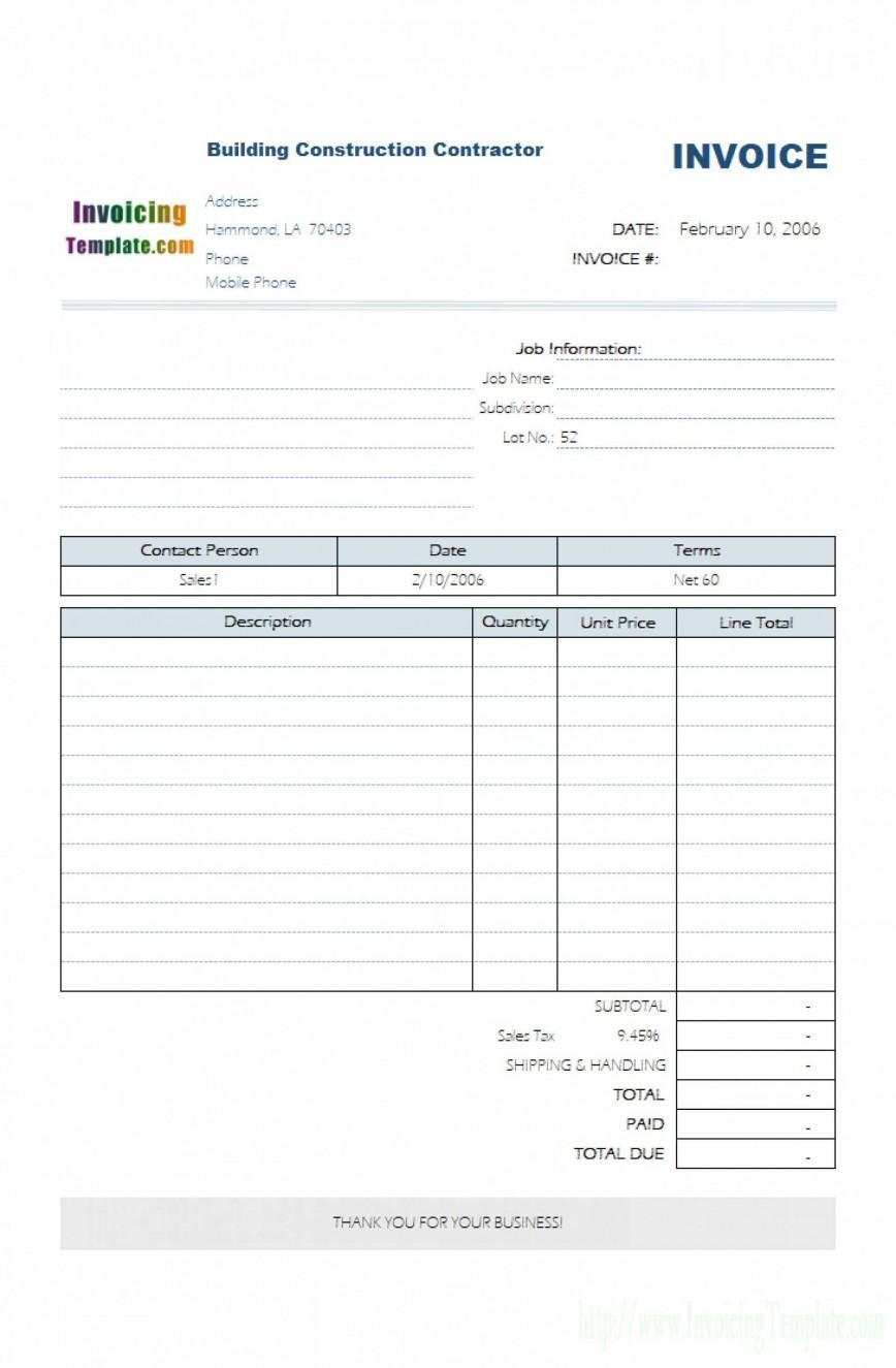 001 Fearsome Self Employed Invoice Template Idea  Uk Free Basic