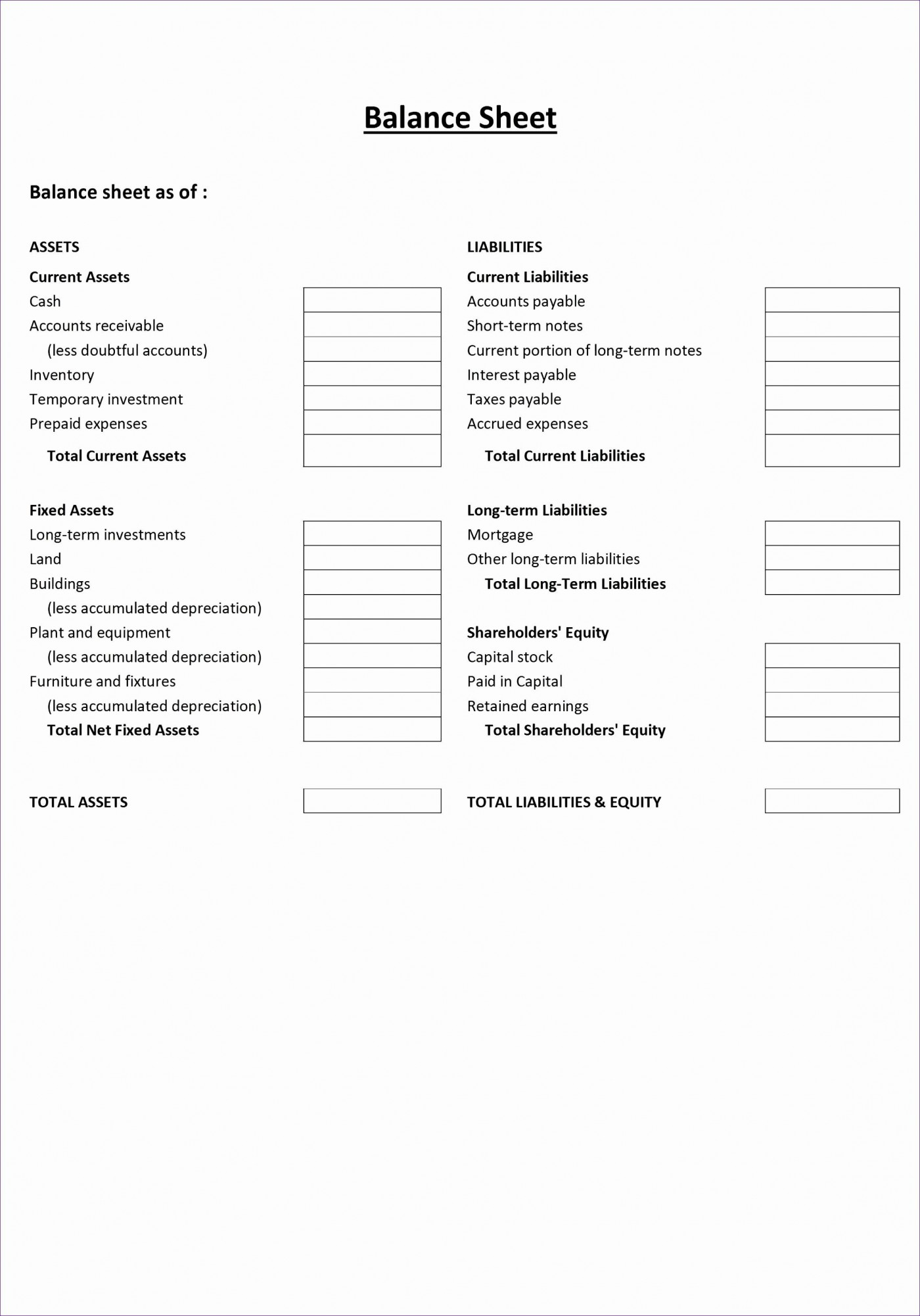 001 Fearsome Simple Balance Sheet Template Photo  Example For Small Busines Sample A Church1400