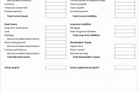 001 Fearsome Simple Balance Sheet Template Photo  Example For Small Busines Sample A Church