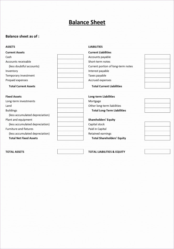 001 Fearsome Simple Balance Sheet Template Photo  Example For Small Busines Sample A Church728