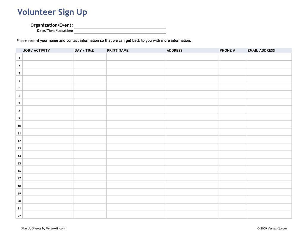 001 Fearsome Visitor Sign In Sheet Template Pdf Concept Full