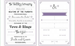 001 Fearsome Wedding Program Fan Template Image  Free Word Paddle Downloadable That Can Be Printed