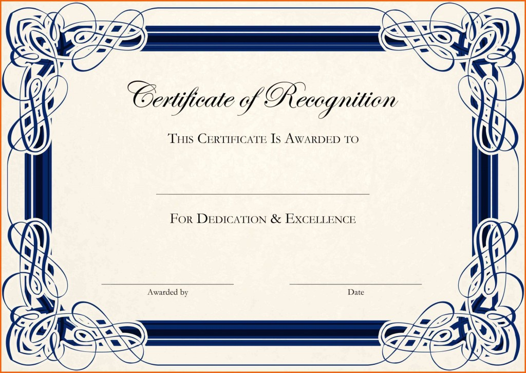 001 Formidable Certificate Template For Word Concept  Award 2007 MLarge