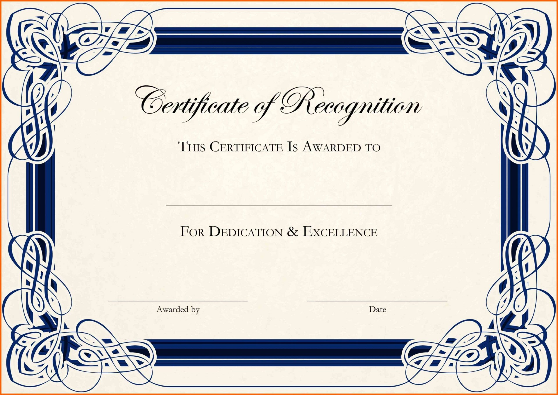 001 Formidable Certificate Template For Word Concept  Award 2007 M1920