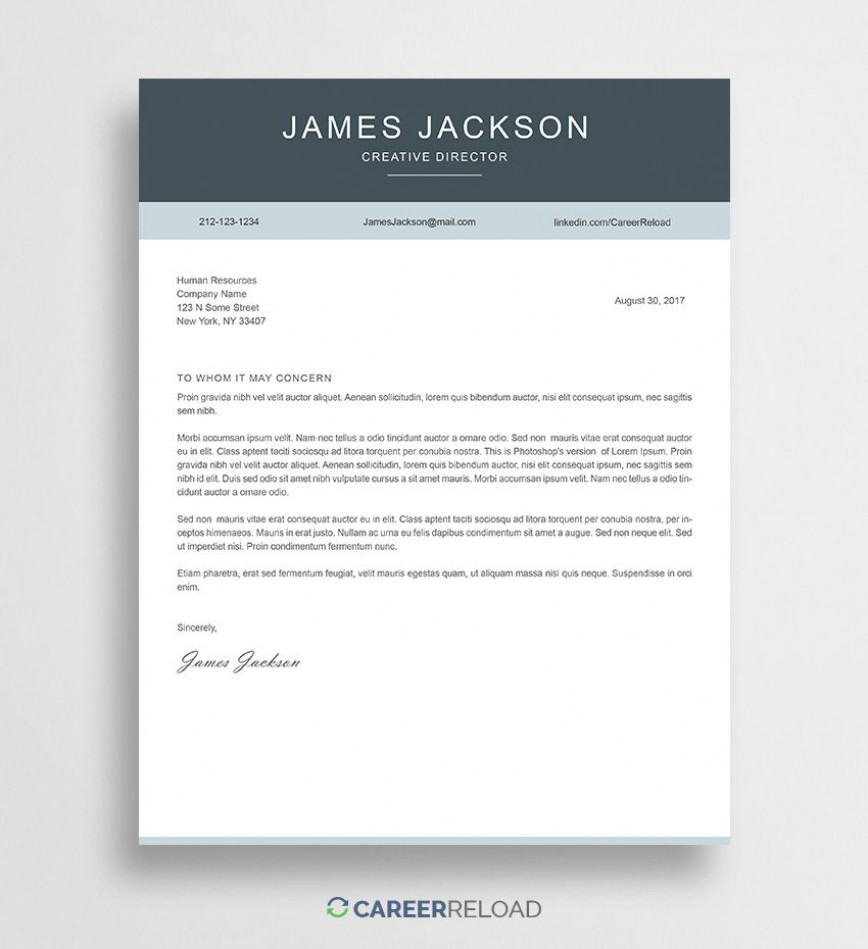 001 Formidable Cover Letter Free Template Image  Word Doc Download