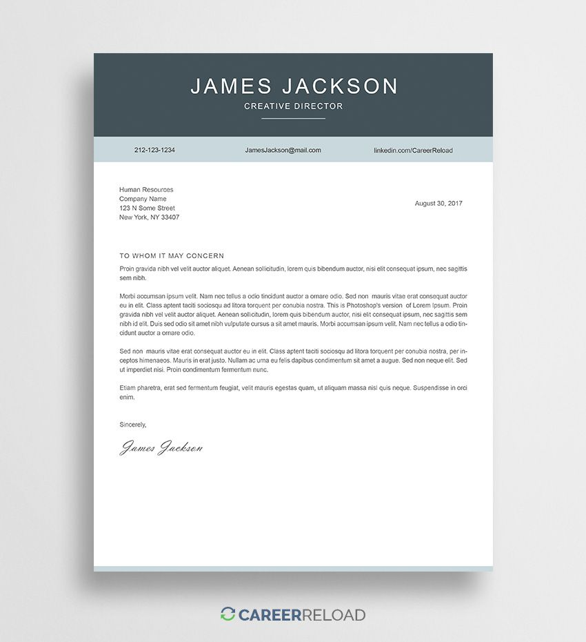 001 Formidable Cover Letter Free Template Image  Download Word DocFull