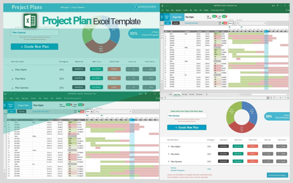 001 Formidable Excel Project Management Template Highest Quality  With Dependencie Gantt Schedule Creation Microsoft OfficeLarge