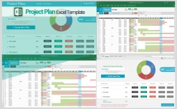 001 Formidable Excel Project Management Template Highest Quality  With Dependencie Gantt Schedule Creation Microsoft Office