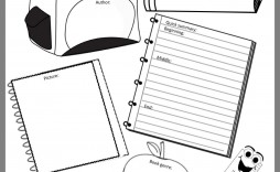 001 Formidable Free Printable Book Report Template For 6th Grade Image