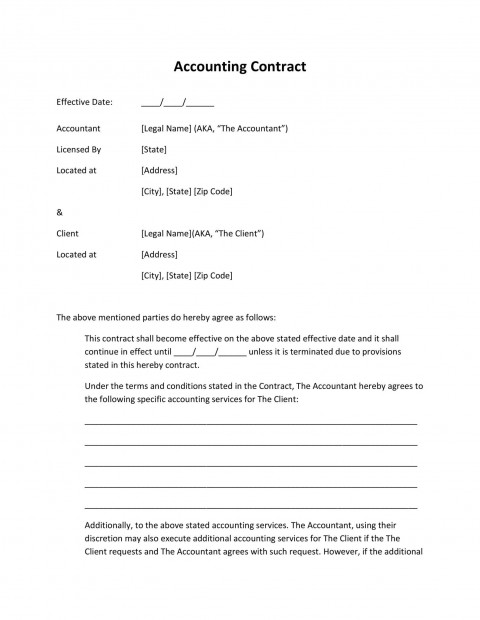 001 Formidable Free Service Contract Template Highest Clarity  Cleaning Lawn480