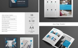 001 Formidable Indesign A4 Brochure Template Free Download Picture
