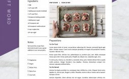001 Formidable M Word Recipe Template Picture  Microsoft Card 2010 Full Page