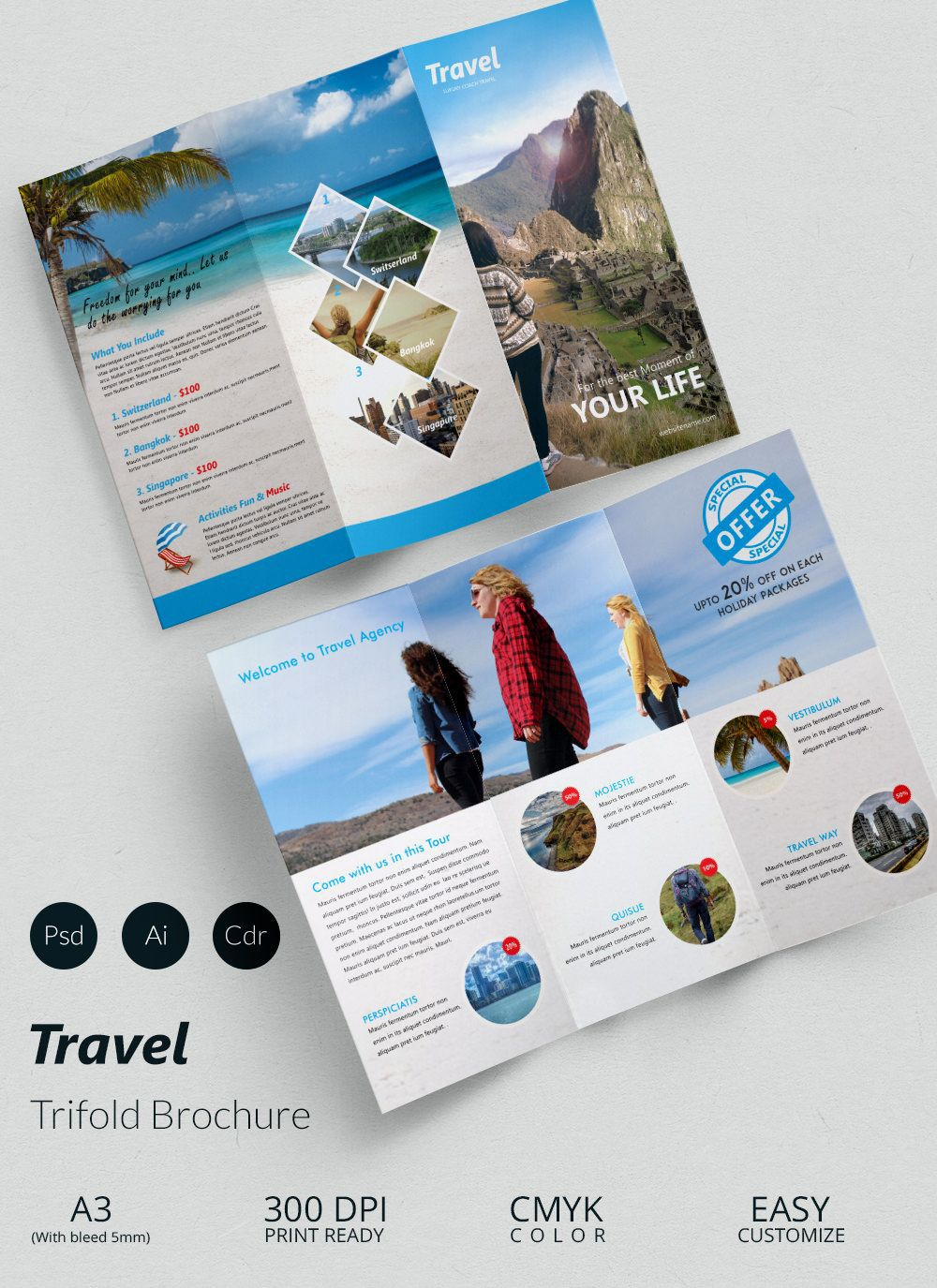 001 Formidable M Word Travel Brochure Template Sample  Microsoft FreeFull