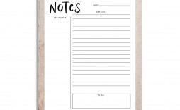 001 Formidable Note Taking Template Pdf High Resolution  Free Cornell Example