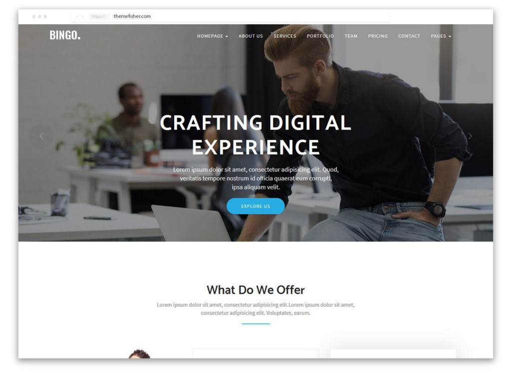 001 Formidable One Page Website Template Free Download Html5 Idea  ParallaxLarge