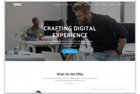 001 Formidable One Page Website Template Free Download Html5 Idea  Parallax