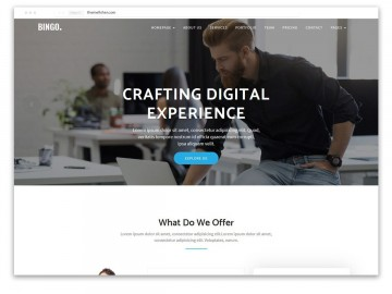 001 Formidable One Page Website Template Free Download Html5 Idea  Parallax360