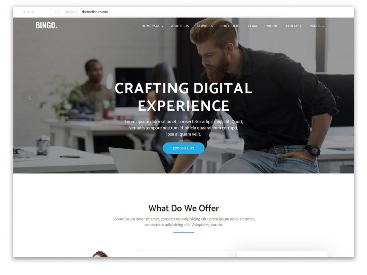 001 Formidable One Page Website Template Free Download Html5 Idea  Parallax728