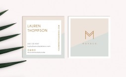 001 Formidable Square Busines Card Template Example  Free Download Photoshop