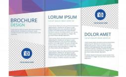 001 Formidable Tri Fold Brochure Template Word Sample  2010 2007 Free
