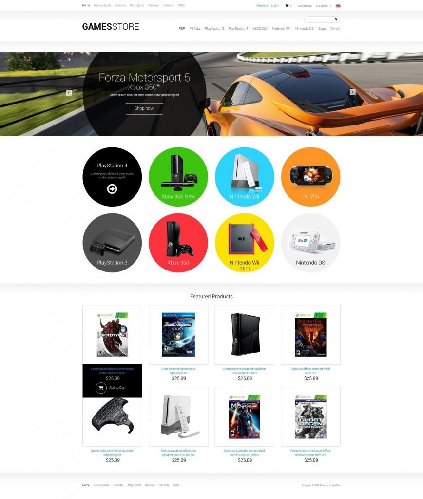 001 Formidable Zen Cart Template Free Concept  Responsive Download 1.5