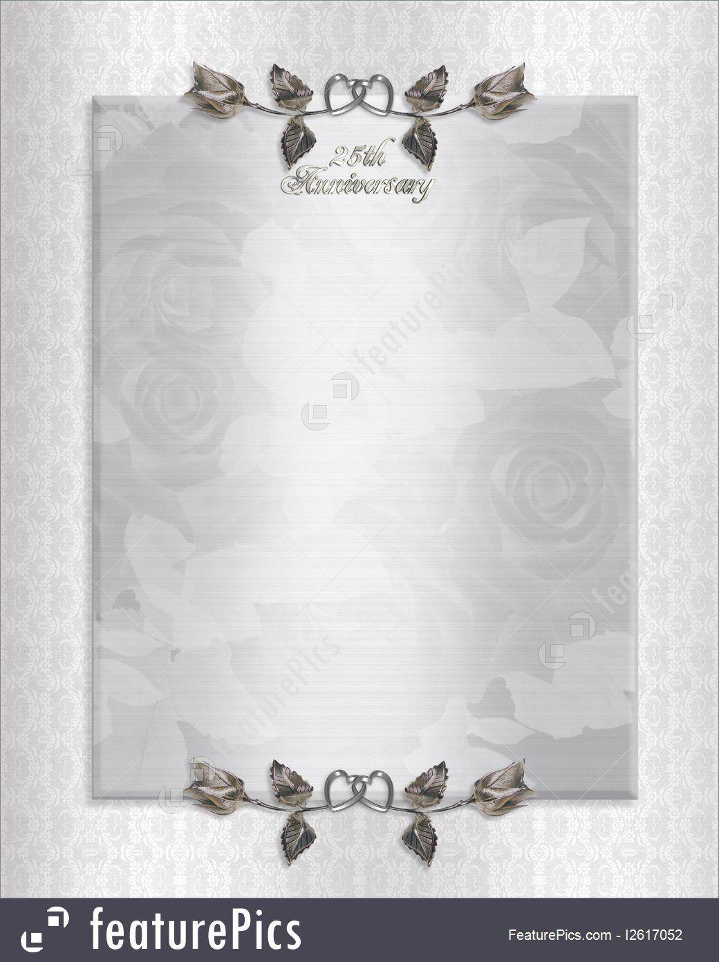 001 Frightening 50th Anniversary Invitation Card Template Inspiration  Templates FreeFull