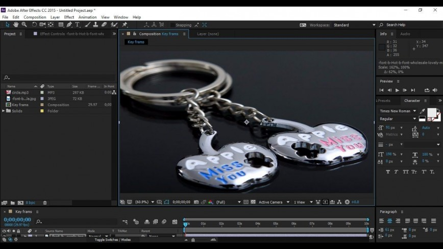 001 Frightening After Effect Template Torrent Image