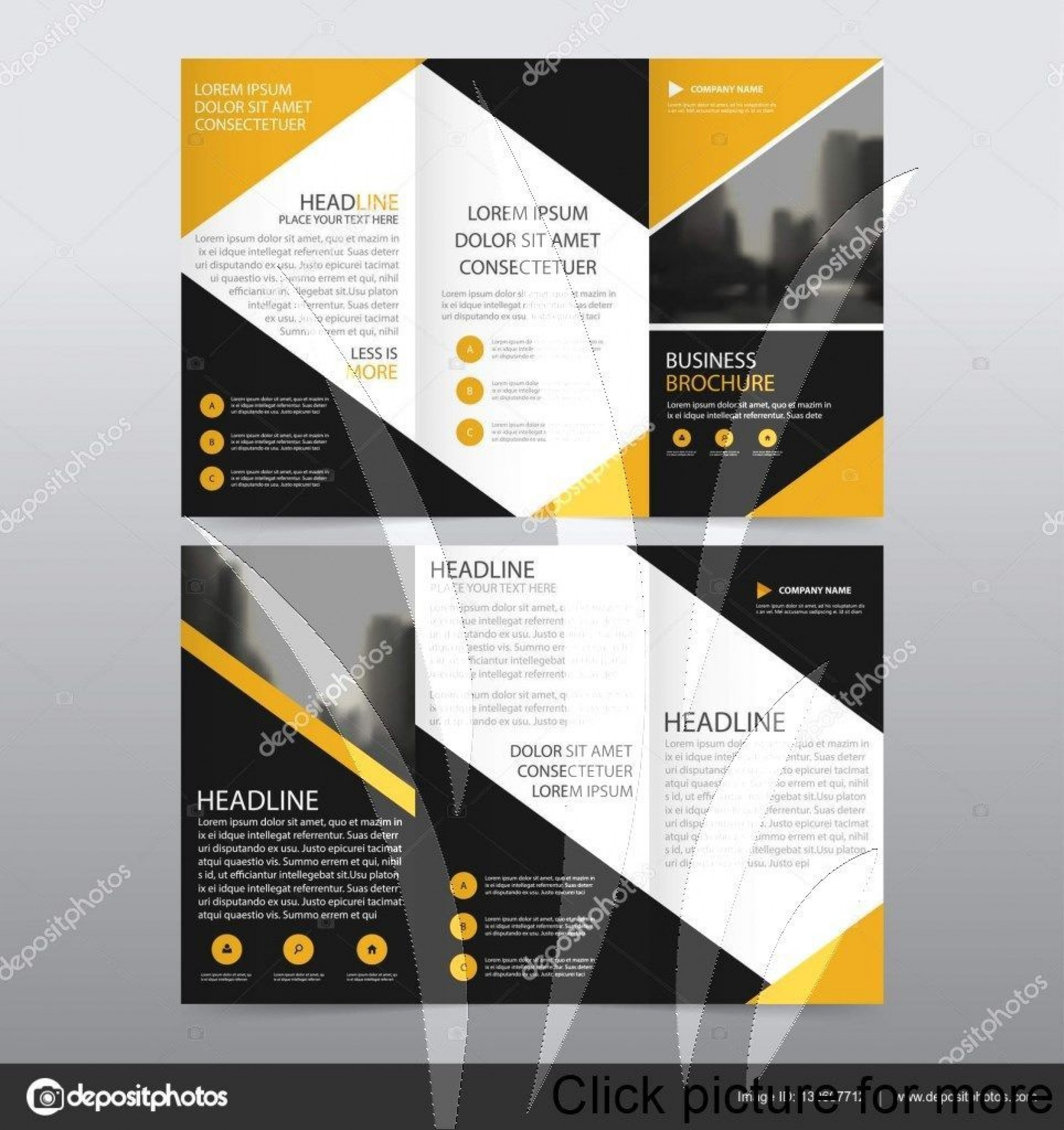 001 Frightening Brochure Design Template Psd Free Download Concept  Hotel1920