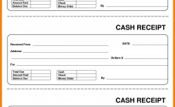 001 Frightening Cash Receipt Template Excel Idea  Fillable Simple Bill Journal
