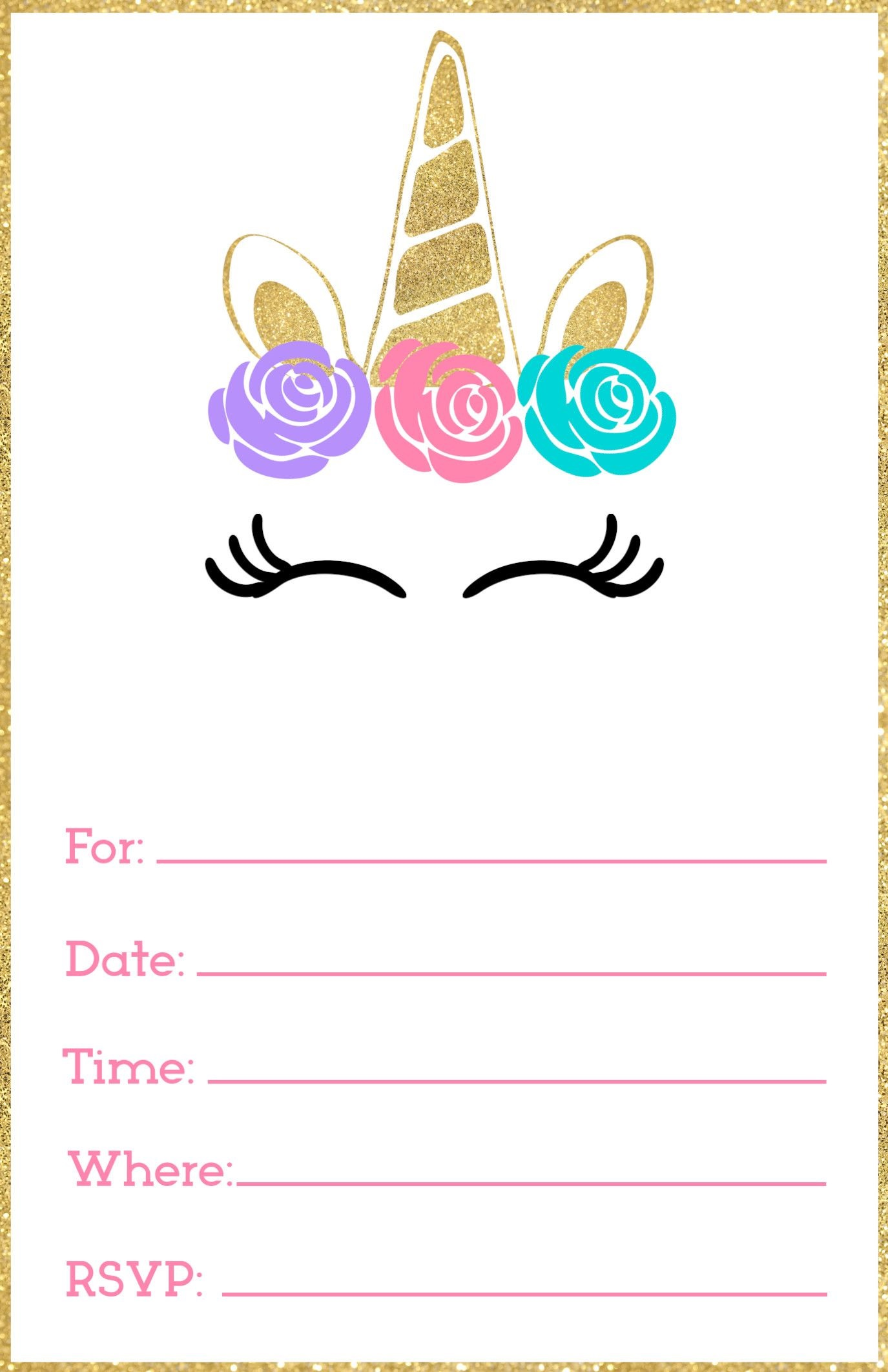 001 Frightening Free Printable Party Invitation Template Photo  Templates Beach Spa TeaFull