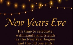 001 Frightening New Year Eve Invitation Template High Resolution  Party Free Word