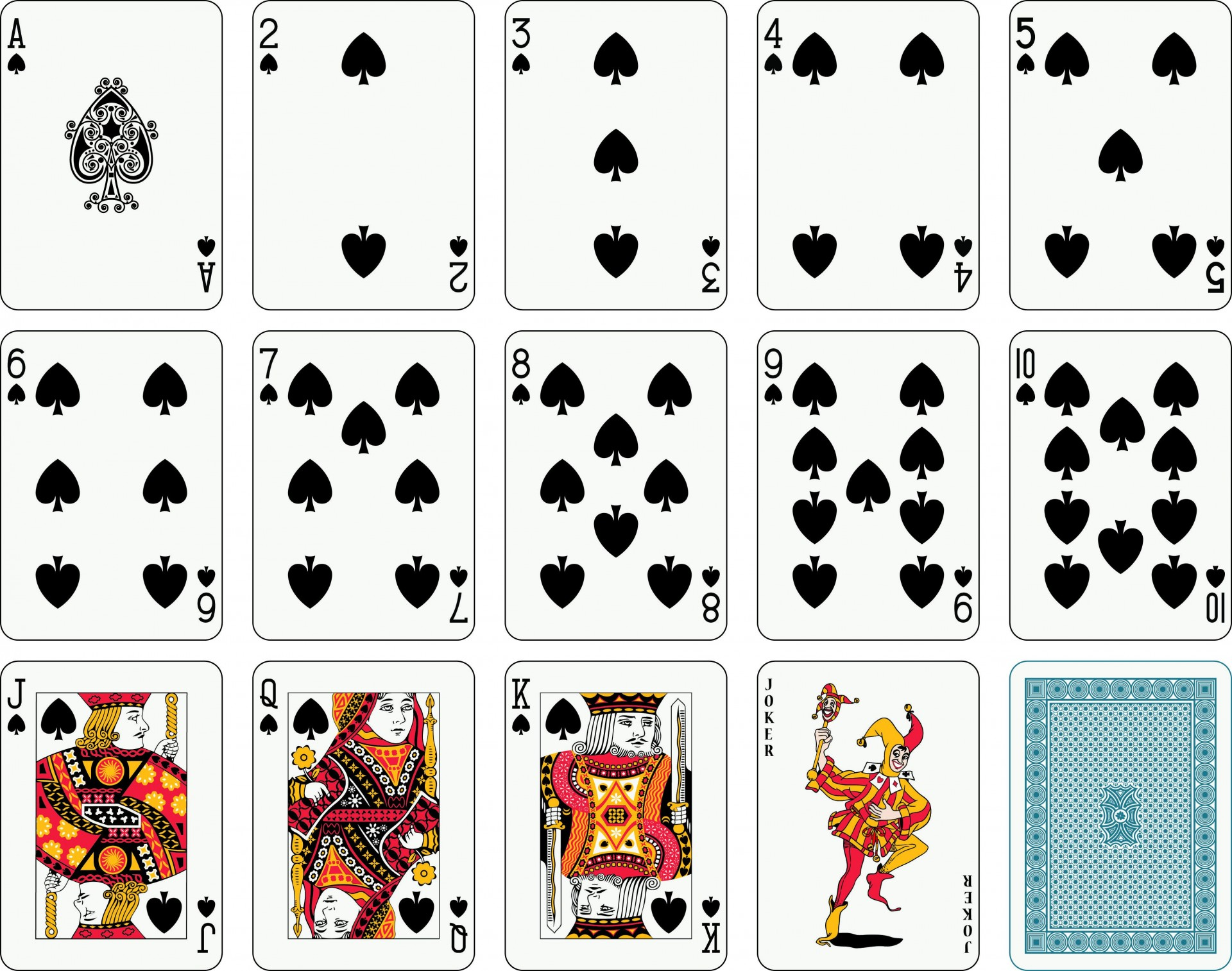 001 Frightening Playing Card Template Free Download Concept  Blank1920