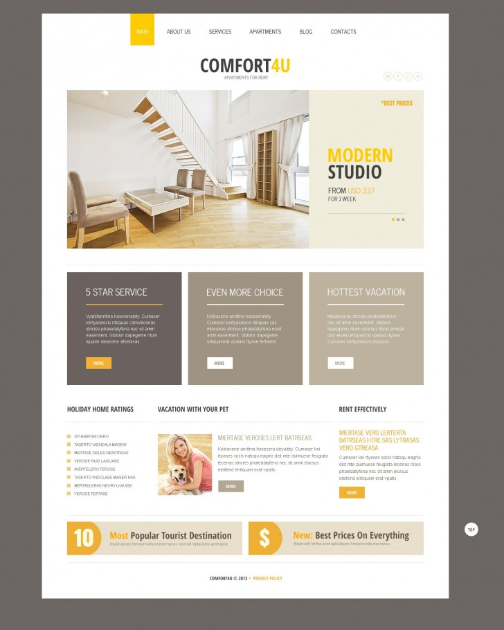 001 Frightening Real Estate Newsletter Template Example  Free Mailchimp728
