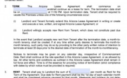 001 Frightening Rental Lease Template Free Concept  Agreement Sample Download Residential Printable