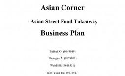 001 Frightening Restaurant Busines Plan Template Uk Inspiration  Free