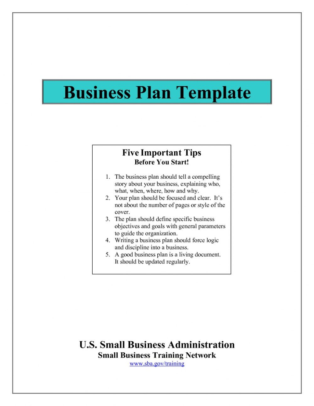 001 Frightening Small Busines Plan Template Free Inspiration  Printable South Africa SimpleFull