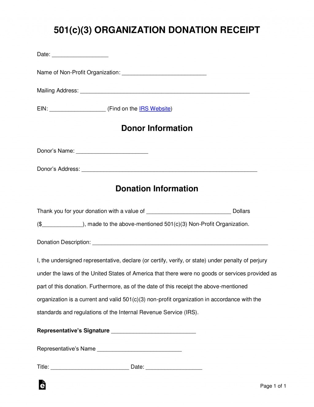 001 Frightening Tax Donation Form Template Highest Quality  Ir Charitable Receipt Deductible ExampleLarge