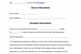 001 Frightening Tax Donation Form Template Highest Quality  Charitable Sample Letter Ir Receipt For Purpose