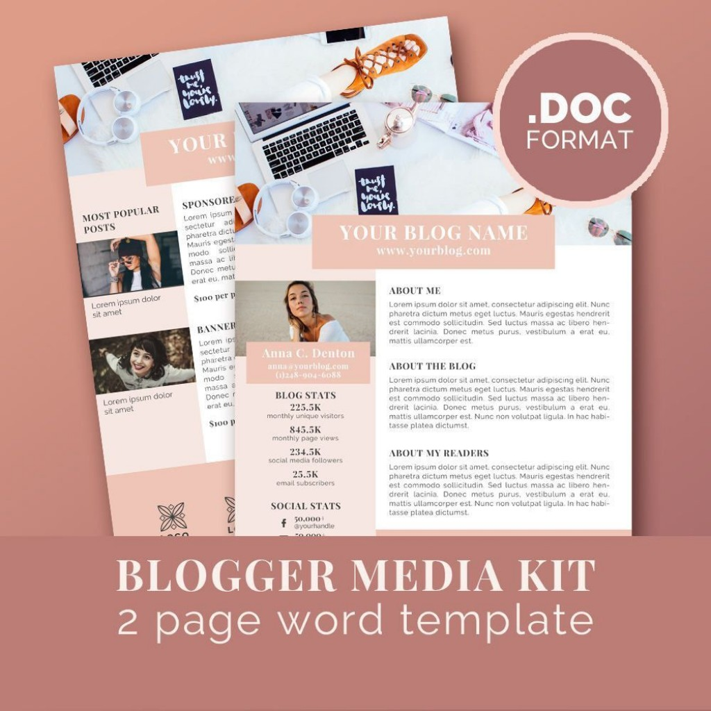 001 Imposing Blog Template For Word Photo  Best Wordpres Free Theme 2019Large