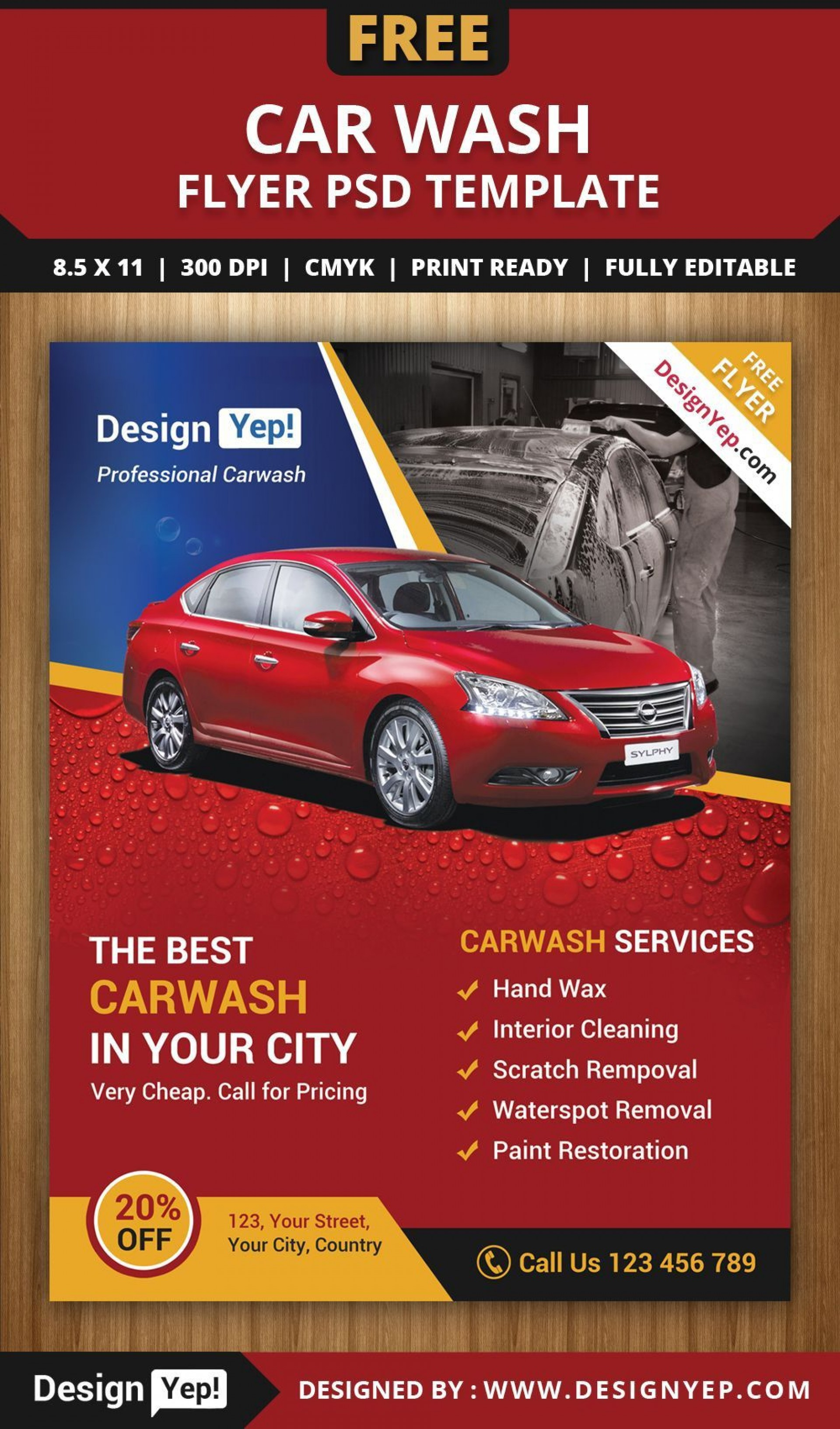 001 Imposing Car Wash Flyer Template Picture  Free Fundraiser Download1920