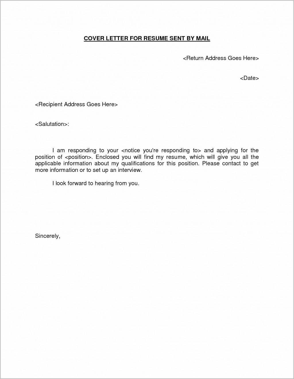 001 Imposing Email Cover Letter Sample Inspiration  Samples Resume Example Of For Job InternshipLarge