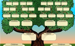 001 Imposing Free Online Family Tree Chart Template High Definition