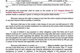 001 Imposing Free Promissory Note Template Pdf Concept  Canada